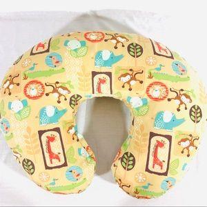 Boppy Pillow with slip cover. EUC
